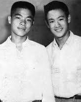 Grandmaster William Chueng with Bruce Lee