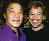 Robert Downy, Jr also trains in the Grandmaster William Cheung lineage